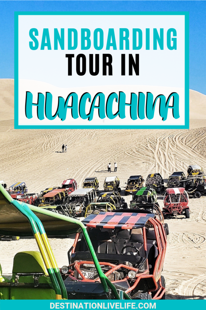 Looking to take a Huacachina Sandboarding tour from Lima, Peru? Here's everything you need to know for a successful tour from how to get to Huacachina from Lima, where to stay in Huacachina, and more. Huacachina Tour l Huacachina Sandboarding l Huacachina, Peru l Huacachina Oasis #southamerica #peru #huacachina #destinationlivelife