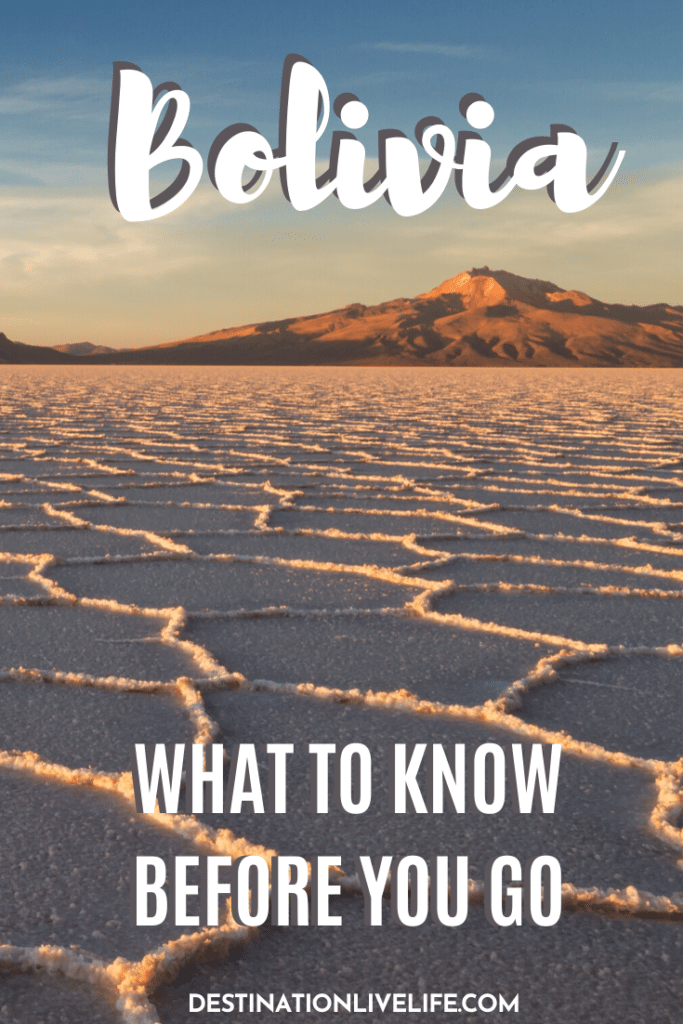 things to know before traveling bolivia