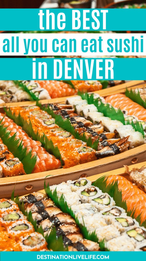 all you can eat sushi in denver