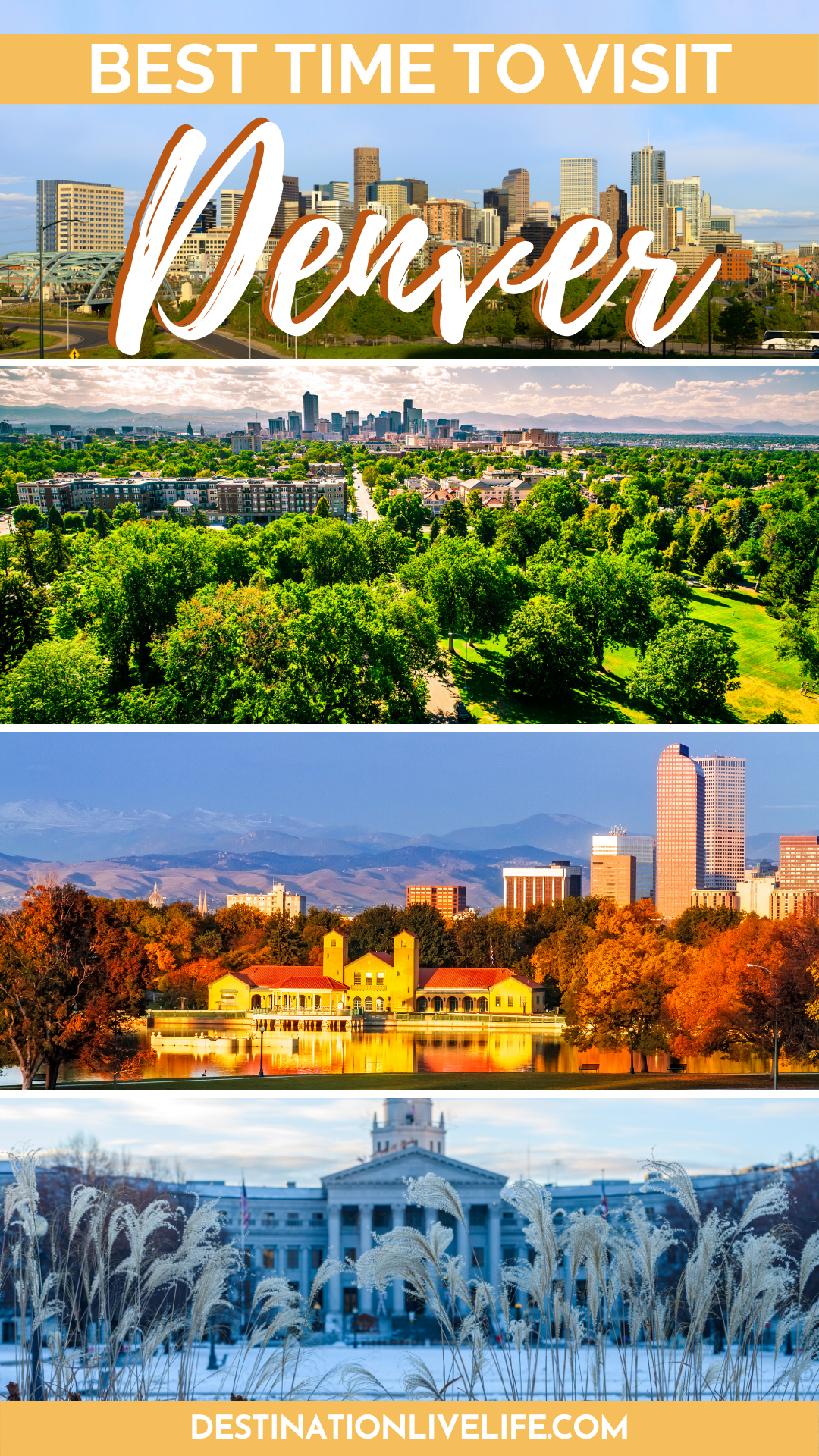 best time to visit denver